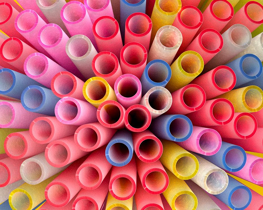 Bouquet straws |Happy Turtle Straw