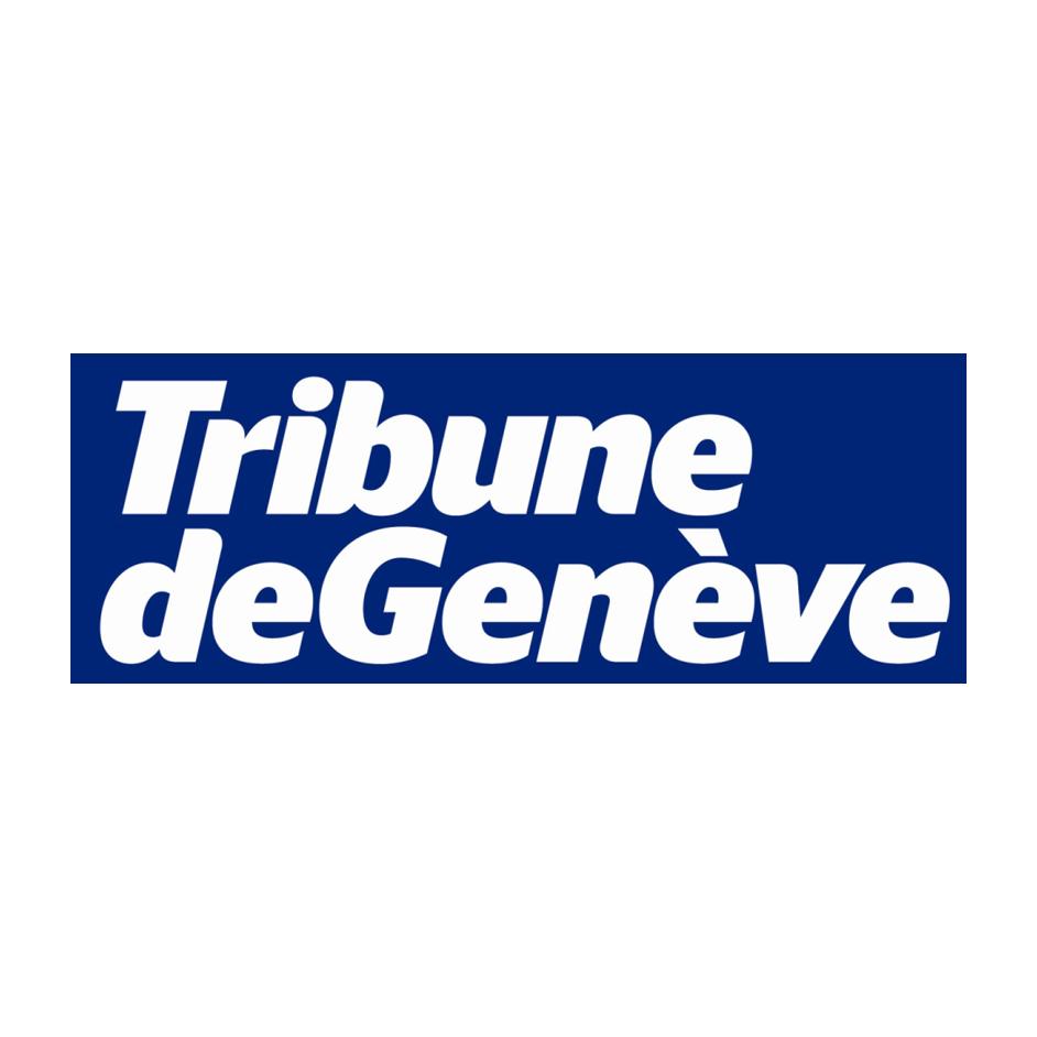 Tribune de Genève Logo  Happy Turtle Straw